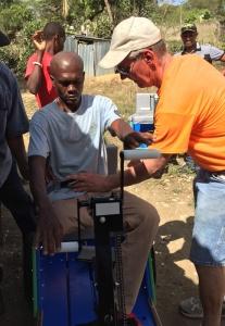 Jackson gets a Mobility Cart