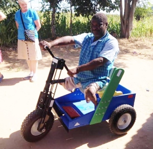 Mobility Cart in Zimbabwe